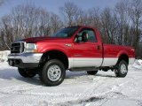 2003 Ford F350 Super Duty XLT Regular Cab 4x4 Data, Info and Specs