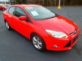 2012 Race Red Ford Focus SE Sport Sedan #75357400