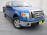 2011 Blue Flame Metallic Ford F150 XLT SuperCrew #75357238