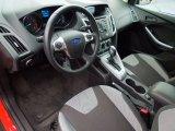 2012 Ford Focus SE Sport Sedan Two-Tone Sport Interior