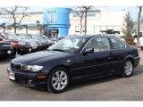 2005 Monaco Blue Metallic BMW 3 Series 325i Coupe #75357479