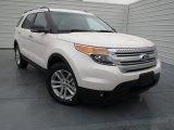 2013 White Platinum Tri-Coat Ford Explorer XLT #75357234
