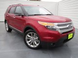 2013 Ruby Red Metallic Ford Explorer XLT #75357233