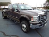 2005 Dark Stone Metallic Ford F350 Super Duty Lariat Crew Cab 4x4 Dually #75357392