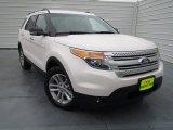 2013 White Platinum Tri-Coat Ford Explorer XLT #75357232
