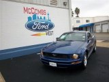 2009 Vista Blue Metallic Ford Mustang V6 Coupe #75357121