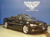 2010 Jet Black BMW 3 Series 335i Convertible #75357042