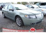 2008 Moss Green Metallic Lincoln MKZ Sedan #75356894