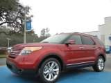 2013 Ruby Red Metallic Ford Explorer Limited #75394307