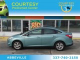 2012 Frosted Glass Metallic Ford Focus SEL Sedan #75394900