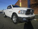 2011 Bright White Dodge Ram 1500 Big Horn Quad Cab 4x4 #75395047
