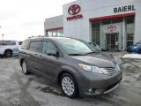 2011 Predawn Gray Mica Toyota Sienna Limited AWD #75395023