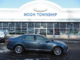 2011 Steel Blue Metallic Ford Fusion SEL #75394441