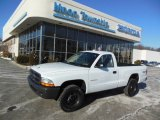 2003 Bright White Dodge Dakota Regular Cab 4x4 #75394440