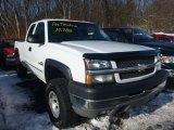 2003 Summit White Chevrolet Silverado 2500HD LS Extended Cab 4x4 #75394437