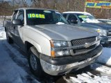 2004 Silver Birch Metallic Chevrolet Silverado 1500 Z71 Extended Cab 4x4 #75394435