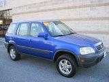 2001 Honda CR-V Electron Blue Metallic