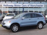 2009 Glacier Blue Metallic Honda CR-V EX-L 4WD #75394570