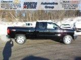 2013 Black Chevrolet Silverado 1500 LT Extended Cab 4x4 #75394412