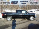 2013 Black Chevrolet Silverado 1500 LT Extended Cab 4x4 #75394410