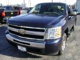 2010 Imperial Blue Metallic Chevrolet Silverado 1500 LS Extended Cab #75394128