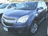 2013 Atlantis Blue Metallic Chevrolet Equinox LT #75394118