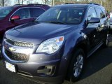 2013 Atlantis Blue Metallic Chevrolet Equinox LT #75394111