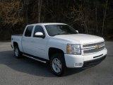 2012 Summit White Chevrolet Silverado 1500 LTZ Crew Cab 4x4 #75394869