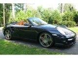 2008 Midnight Blue Metallic Porsche 911 Turbo Cabriolet #751712