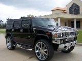 2003 Black Hummer H2 SUV #7511917
