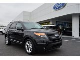 2013 Tuxedo Black Metallic Ford Explorer Limited #75394383