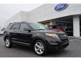 2013 Tuxedo Black Metallic Ford Explorer Limited #75394382