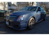 2009 Blue Diamond Tri-Coat Cadillac CTS -V Sedan #75394227