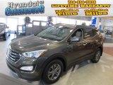 2013 Cabo Bronze Hyundai Santa Fe Sport AWD #75394053