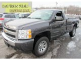2011 Taupe Gray Metallic Chevrolet Silverado 1500 Regular Cab 4x4 #75394052