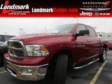 2011 Deep Cherry Red Crystal Pearl Dodge Ram 1500 Big Horn Crew Cab #75394366