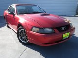2002 Laser Red Metallic Ford Mustang V6 Convertible #75394474