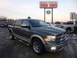 2011 Mineral Gray Metallic Dodge Ram 1500 Laramie Crew Cab 4x4 #75394798