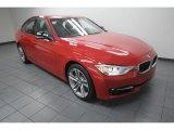 2012 Melbourne Red Metallic BMW 3 Series 335i Sedan #75394673