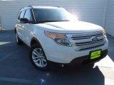 2011 White Platinum Tri-Coat Ford Explorer XLT #75394470