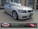2008 Titanium Silver Metallic BMW 3 Series 335i Sedan #75394794