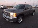 2013 Graystone Metallic Chevrolet Silverado 1500 LT Crew Cab 4x4 #75394665