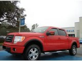 2010 Vermillion Red Ford F150 FX4 SuperCrew 4x4 #75394318