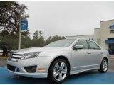 2010 Brilliant Silver Metallic Ford Fusion Sport #75394315