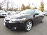 2010 Crystal Black Pearl Acura TSX Sedan #75394910