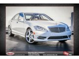2013 Diamond White Metallic Mercedes-Benz S 550 Sedan #75394179
