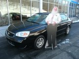 2007 Black Chevrolet Malibu LS Sedan #75394172