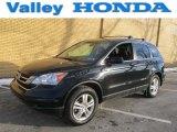 2010 Crystal Black Pearl Honda CR-V EX-L AWD #75394167