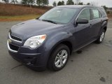 2013 Atlantis Blue Metallic Chevrolet Equinox LS #75394765