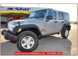2013 Billet Silver Metallic Jeep Wrangler Unlimited Sport S 4x4 #75394637